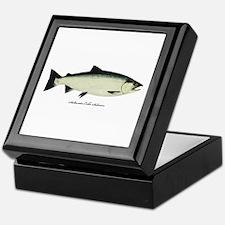 Coho Silver Salmon Keepsake Box