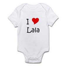 Funny I love name Infant Bodysuit
