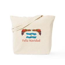 Argentine Feliz Navidad 2 Tote Bag