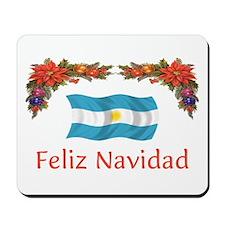 Argentine Feliz Navidad 2 Mousepad