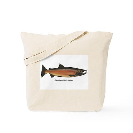 Coho Silver Salmon Tote Bag