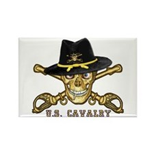 Forever Cavalry Rectangle Magnet