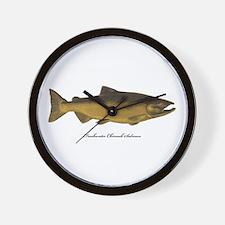 Chinook King Salmon Wall Clock