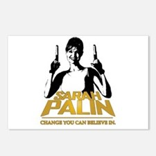 PALIN - CHANGE YOU CAN BELIEVE IN Postcards (Packa