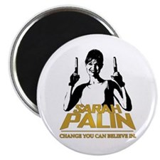 PALIN - CHANGE YOU CAN BELIEVE IN Magnet