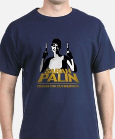 PALIN - CHANGE YOU CAN BELIEVE IN T-Shirt