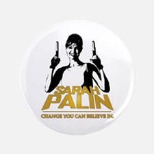 """PALIN - CHANGE YOU CAN BELIEVE IN 3.5"""" Button"""