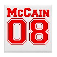 McCain 08 Tile Coaster