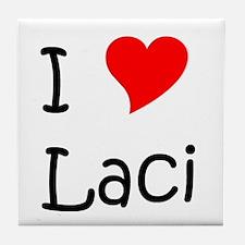 Cute Laci Tile Coaster