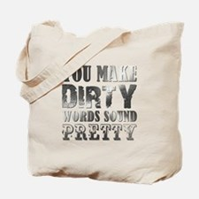 DIRTY WORDS Tote Bag