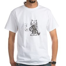 French Horn Cat Shirt