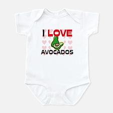 I Love Avocados Infant Bodysuit