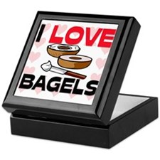 I Love Bagels Keepsake Box