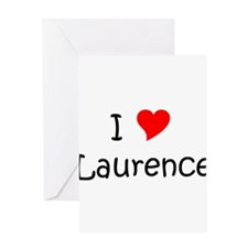 Funny Laurence Greeting Card