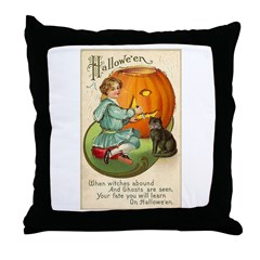 Witches Abound Throw Pillow