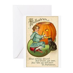 Witches Abound Greeting Cards (Pk of 20)