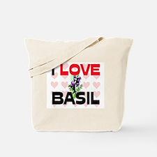 I Love Basil Tote Bag