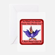 """""""Nothing Special"""" Greeting Card"""
