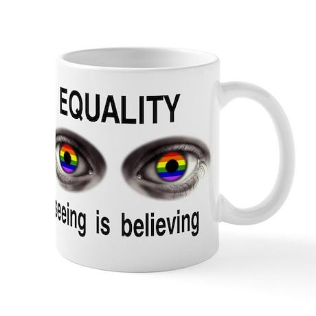 I see gay people Mug