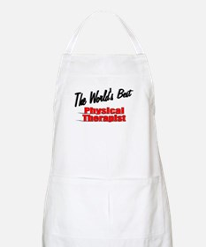 """The World's Best Physical Therapist"" BBQ Apron"