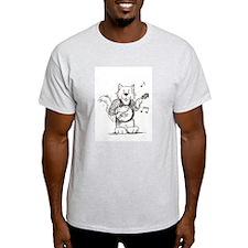 CatoonsT Banjo Cat T-Shirt