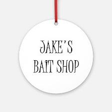 Jakes Bait Shop Ornament (Round)