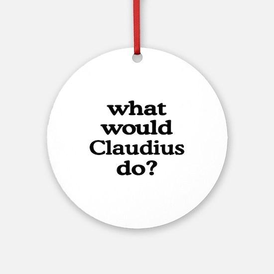 Claudius Ornament (Round)