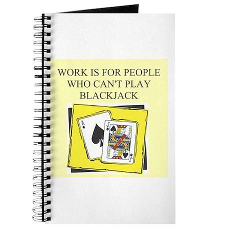 blackjack gifts t-shirts Journal