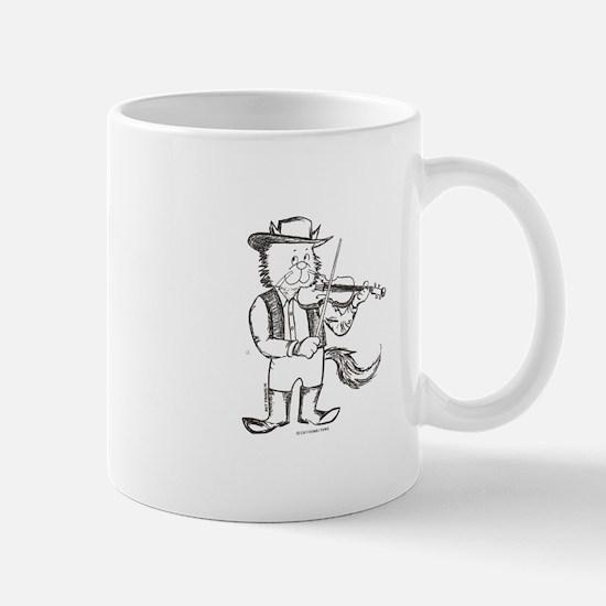 CatoonsT Fiddle Cat Mug