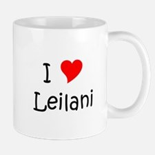 Cute I love leilani Mug