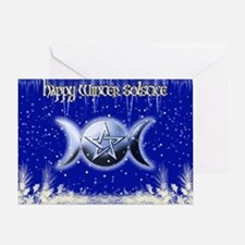 Winter Solstice 2 Greeting Card