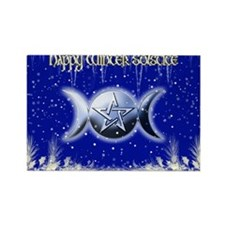 Winter Solstice 2 Rectangle Magnet