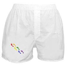 gay feet Boxer Shorts