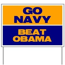 Go Navy Beat Obama Yard Sign
