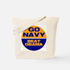 Go Navy Beat Obama Tote Bag
