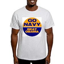 Go Navy Beat Obama T-Shirt