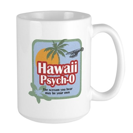 Hawaii Psych-O Large Mug
