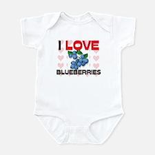 I Love Blueberries Infant Bodysuit