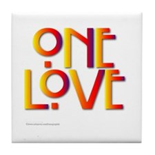 One Love/Marley Tile Coaster