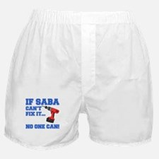 If Saba Can't Fix It Boxer Shorts