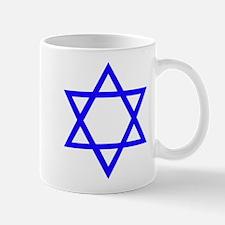 Blue Star of David Mug