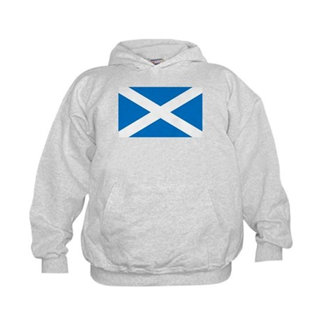 Scottish Flag Kids Hoodie