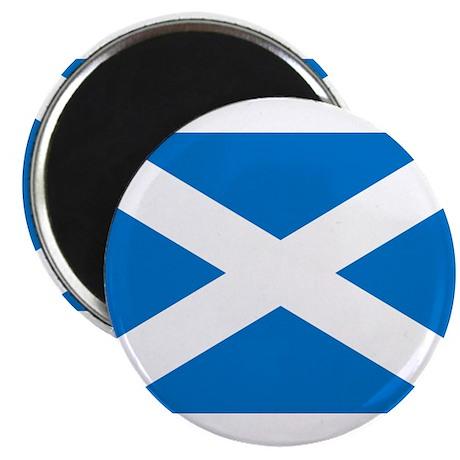 """Scottish Flag 2.25"""" Magnet (10 pack)"""