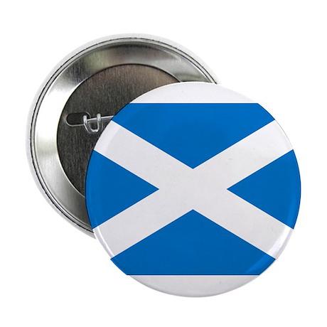 "Scottish Flag 2.25"" Button"