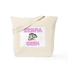Zebra Geek Tote Bag
