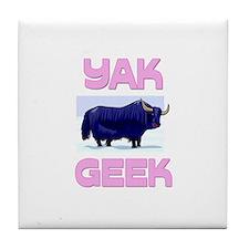 Yak Geek Tile Coaster
