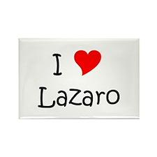 Cute I heart lazaro Rectangle Magnet