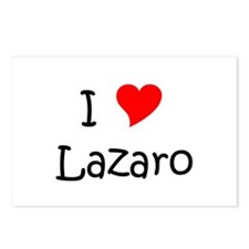 Lazaro's Postcards (Package of 8)