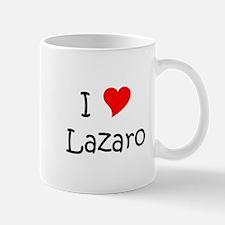 Cute I love lazaro Mug