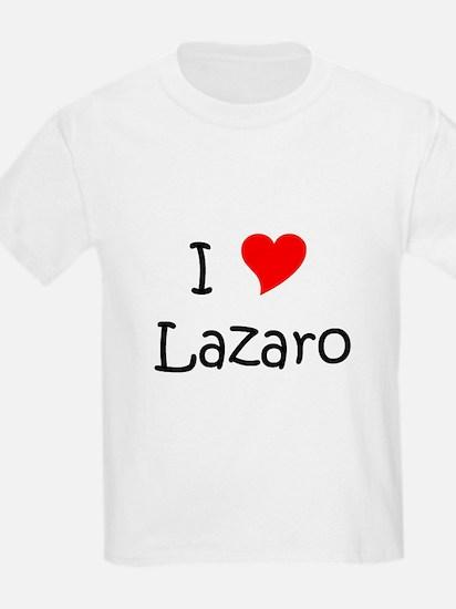 Cute I heart lazaro T-Shirt